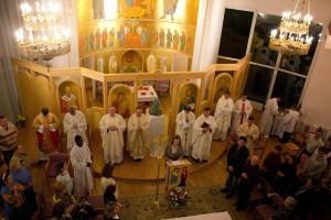 Літургія Парафія св. Йоана Павла