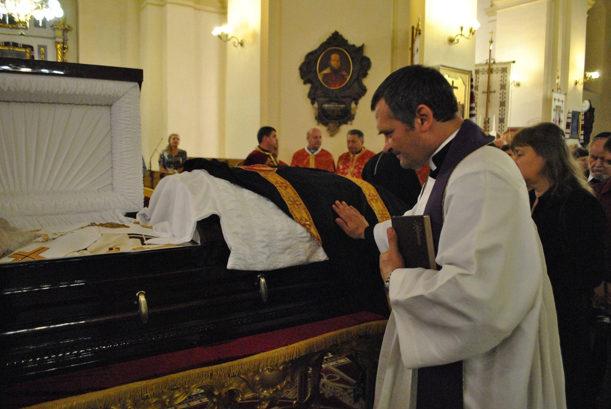 Римо-католицька молитва за Кардинала Любомира в соборі св. Юра