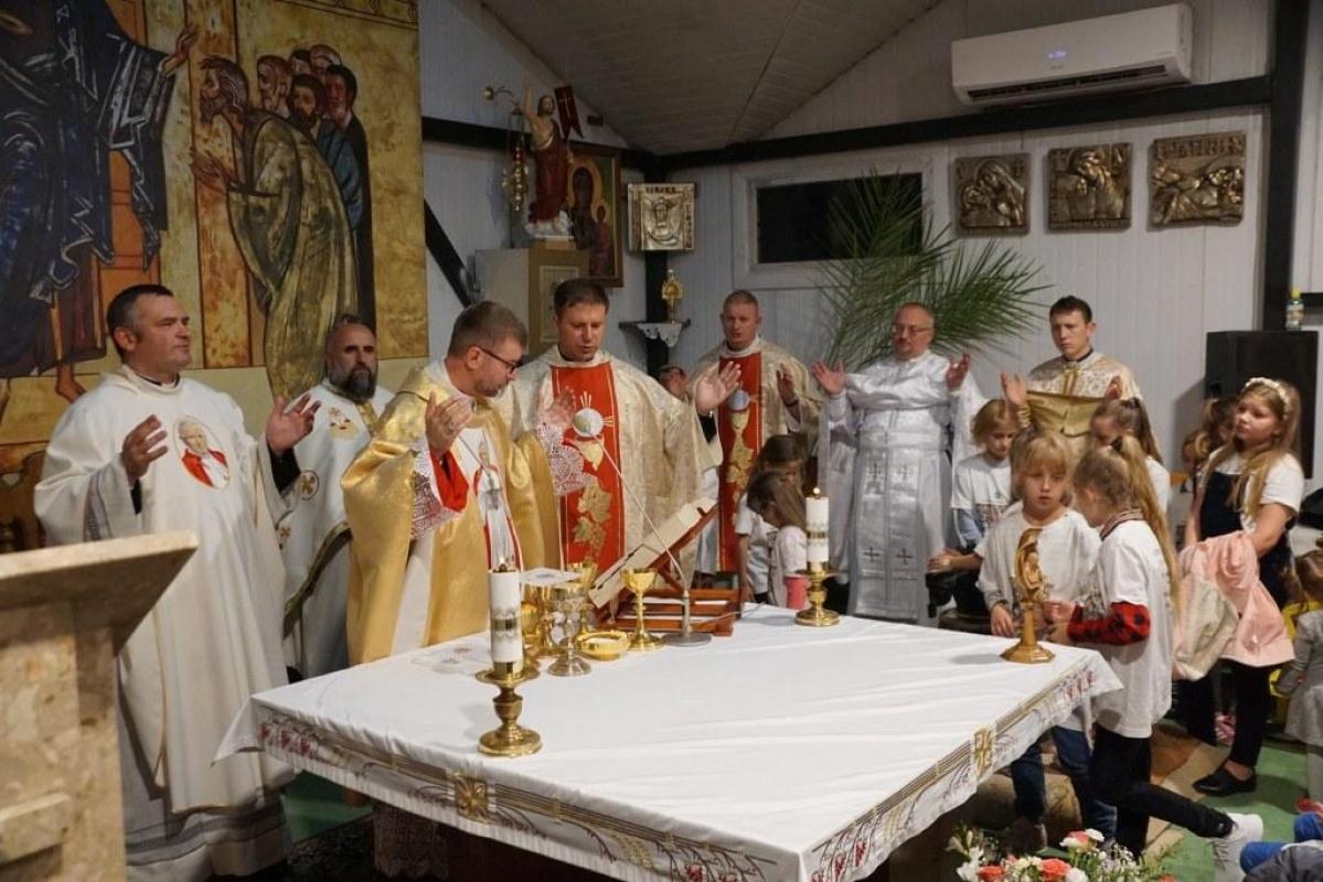 Відпуст у львівській парафії св. Йоана Павла ІІ