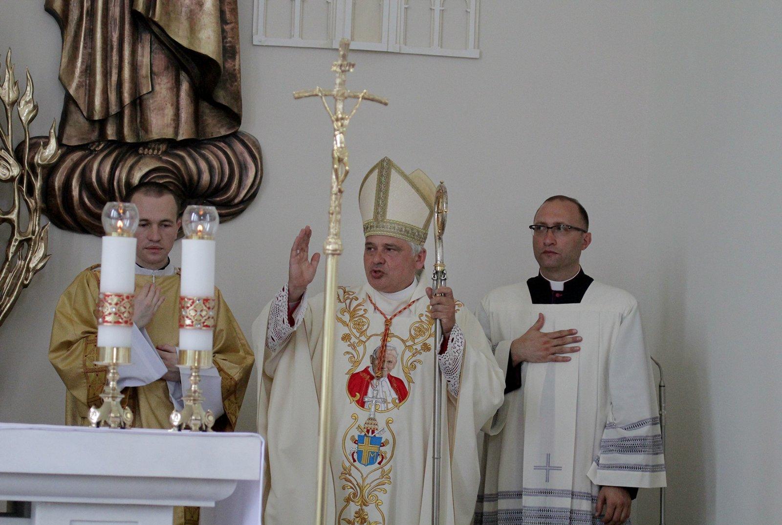 Неділя, 18 липня, – перша річниця освячення нашого парафіяльного храму