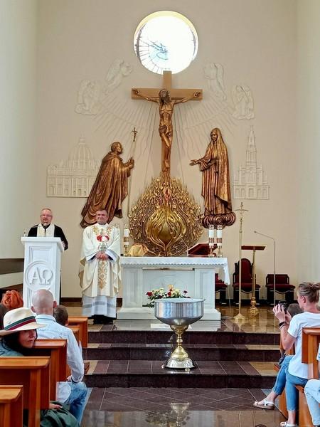 Перша річниця освячення храму св. Йоана Павла ІІ у Львові