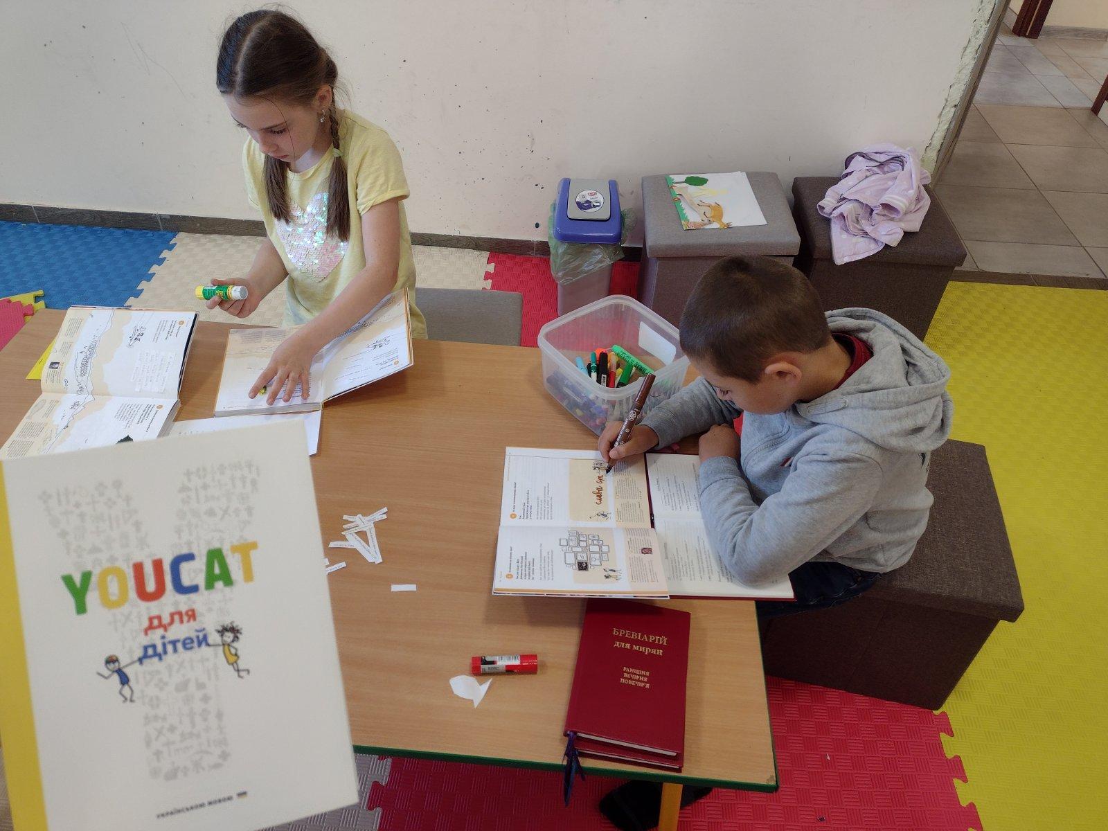 Катехези для дітей на основі YOUCAT